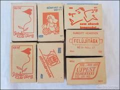 Magyar reklámos retro gyufásdoboz gyűjtemény