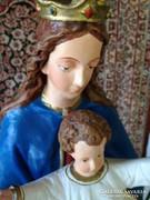 Csodás, hatalmas méretű Mária a kis Jézussal