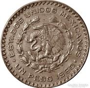 Mexikói ezüst 1 peso 1960
