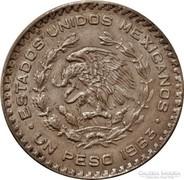 Mexikói ezüst 1 peso 1963
