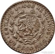 Mexikói ezüst 1 peso 1966