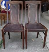 Lingel Károly féle szék pár 1920-as évekből