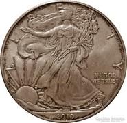 SZÍNEZÜST 1 unciás Liberty 2010 - amerikai érme