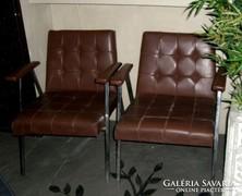 2 db Retro szék fémvázas