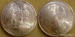 NSZK  10 DM  2000 G     Ag  ezüst  15,5 gramm