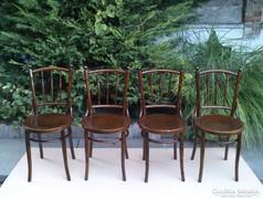 Meseszép Thonet székek 4 db.