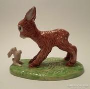 Izsépy figura - Őz és nyuszi