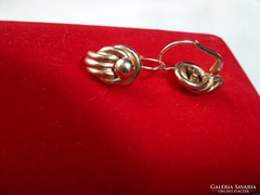 14k régi arany fülbevaló PV