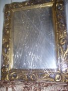 Antik fali tükör