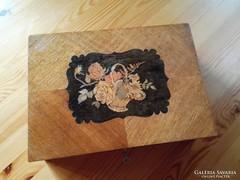 Eladó gyönyörű fa doboz, ládikó, dobozka, díszdoboz