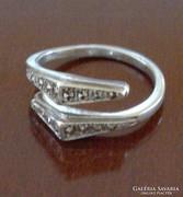 Antik ezüst gyűrű