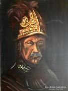 D. Szabó /Aranysisakos katona, Rembrandt