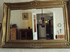 Nagy antik fali tükör eladó.