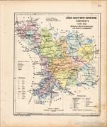 Jász - Nagykun - Szolnok vármegye térkép 1905
