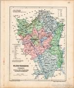 Fejér - vármegye térkép 1905, eredeti