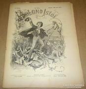 Bolond Istók, 1880 június 20., régi, antik újság, humor