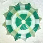 Retro különleges üveg lámpabúra 50cm