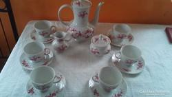 6 személyes teás,kávés készlet!