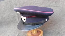 Eredeti II:vh német polizei tányérsapka