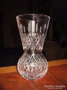 Szép, régi ólomkristály váza