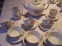 Tertia csodaszép teás készlet