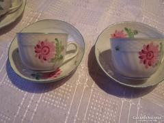 Tertia csodaszép kávés csésze 2 darab