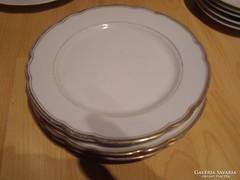 Német aranyozottb süteményes tányér 4 darab