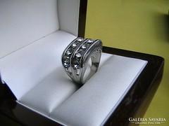 'Filléres' swarovski kristályos gyűrű 3