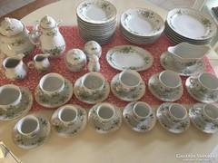 Többrészes Hollóházi Porcelán Készlet