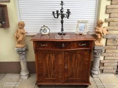 Antik bútor, Neóbarokk szekrény, komód felújított.