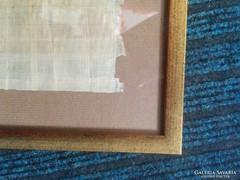 Régi papirusz keretezve 42x29 cm