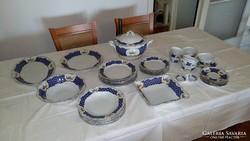 Zsolnay porcelán étkészlet 6 személyes