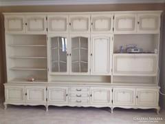 Fehér Warrings nappali szekrény 345x215x50cm