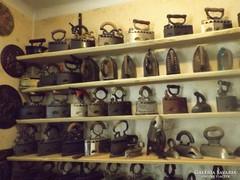 Antik 100 db vasaló Vintage iron collektion gyűjtemény