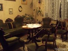 Barokk zöld ülőgarnitúra