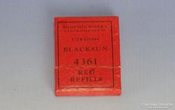 0I786 BOHEMIA WORKS piros utántöltő készlet