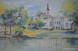 Csiszár Erzsébet (1949-): Martonvásári kastély