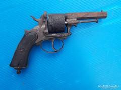 Hatástalanított pisztoly az 1800-as évek 2. feléből