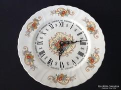 Limoges Porcelán tányér fali óra
