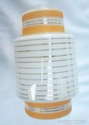Retro búra,  függő, arany csíkos, M 23 cm