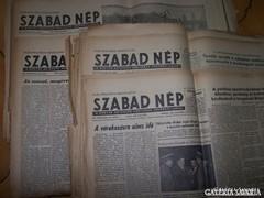 Szabad Nép 1956. augustus 27 - október 17.
