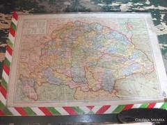 Magyarország politikai, és hely és vízrajzi térképe eladó!