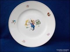 Gránit figurális gyermek tányér