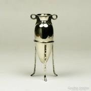 Ezüst görög amfóra vázá dísztárgy