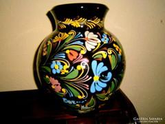 Hatalmas Hódmezővásárhelyi váza Fejes Sándor 30 cm