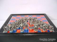 Super Heroes sakk készlet, vintage