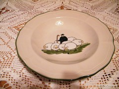ZELLER KERAMIK -  23.5 cm átm mély tányér