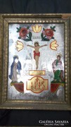 XIX. századi tükör ikonok