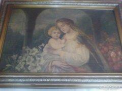 Gyönyörű régi nagy festmény