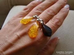 különleges antik  ezüst  gyűrű